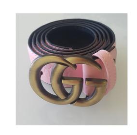 0387aa107 Cinturon Gucci Varios Modelos Negro Rosa Piel Hebilla Cinto