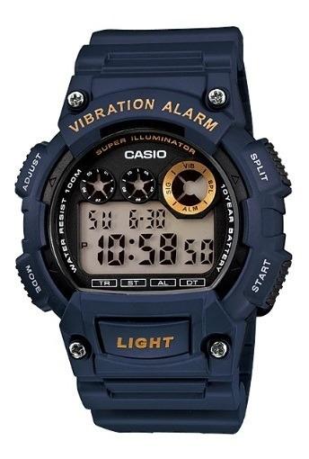 Relógio Casio Masculino Digital W-735h-2avdf Original Nota