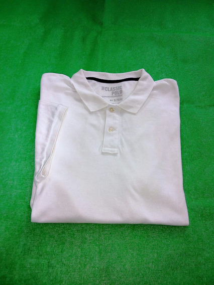 Polo Old Navy Blanca Xl
