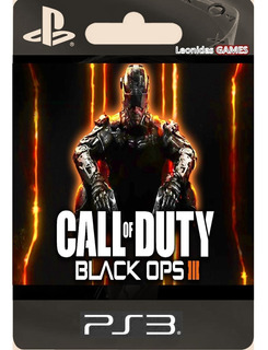 Call Of Duty Black Ops 3 Ps3 Español Lgames