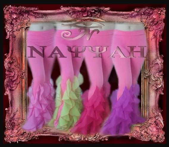 Pantalones Pierrot Danza Arabe Belly Dance - Combinado Rosa