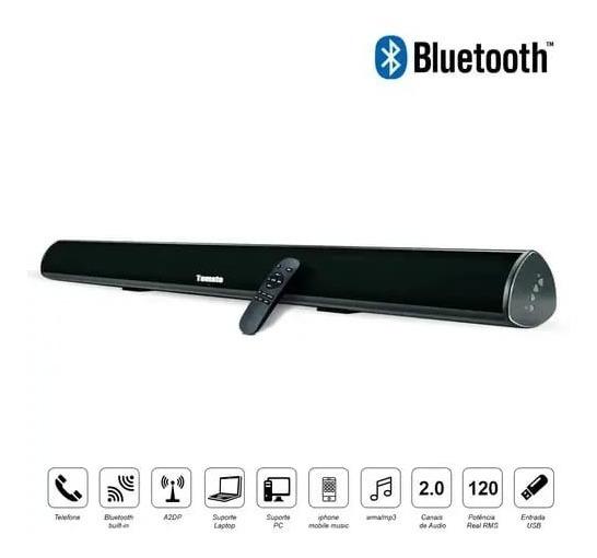 Caixa Som Sound Bar Para Tv Com Bluetooth Smart Tv Mts-2016