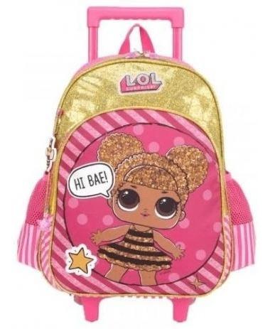 Mochila De Rodinha Infantil Escolar Lol Suprise Ic33002lo