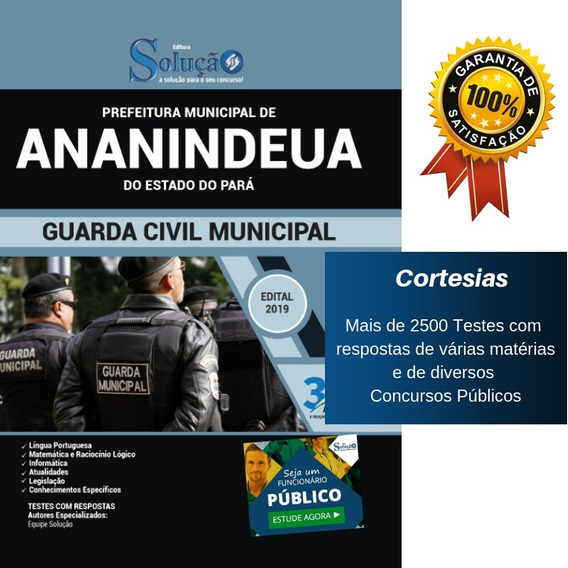 Apostila Concurso Ananindeua Pa - Guarda Municipal