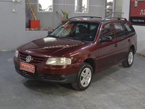 Volkswagen Gol Country 1.6 Con Gnc 2007 5puertas Color Bordo