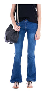 Jean Oxford Mujer / Tiro Medio - Blue Air Jeans