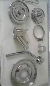 Kit De Acessorios Cromados Motor Vw Fusca Bras Kombi