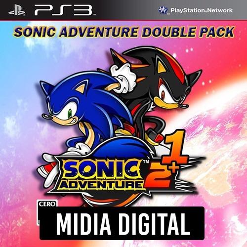 Sonic Adventure 1 E 2 - Ps3 Psn*