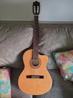 Guitarra Electroacustica Ibanez Clasica Con Estuche!