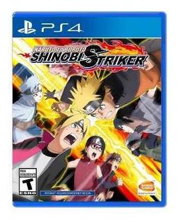 Juego Ps4 Naruto To Boruto Shinobi Striker