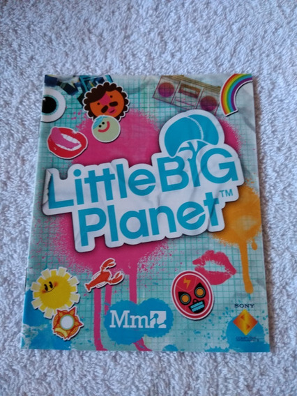 Manual Do Game Little Big Planet Ps3 *** Leia