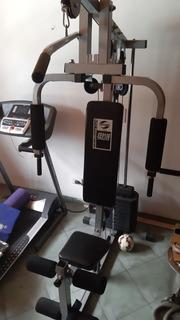 Gym Multigym Multiestacion Con Pesas Oxford Ee9106