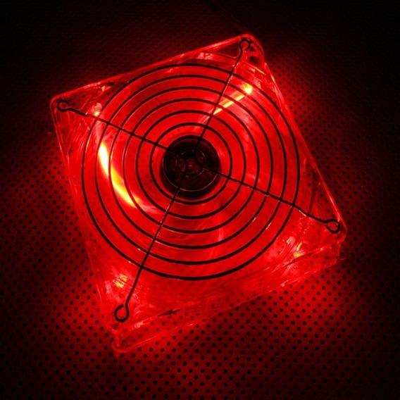 Cooler Fan 120mm Rojo Lian Li Cf-1210r Led Rojo