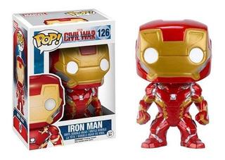 Funko Pop 126 Iron Man