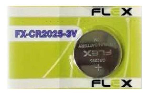 Bateria Botão Fx-cr2025 3v Flex