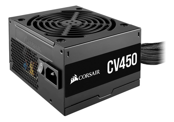 Fonte Corsair Cv450 450w 80 Plus Bronze Pfc - Cp-9020209-br