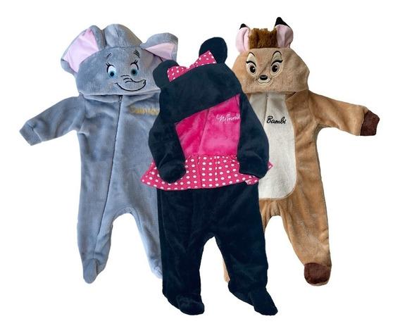 Kit 3 Mamelucos Disney Dumbo, Minnie, Bambie A Precio De 2
