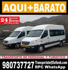 Alquiler De Vans Hyundai H1 , Mini Bus Minivan Minibus Autos