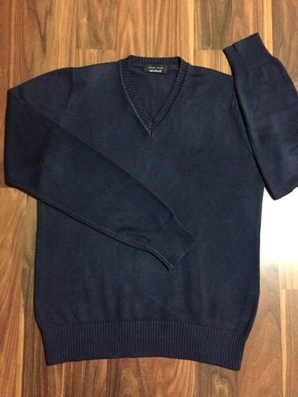 Suéter Social Masculino Zara Man M Novo Original Importado