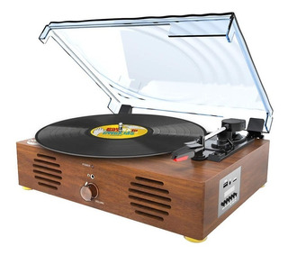 Record Player-13 In 1 Turntable With Speakers Vinyl Recordin