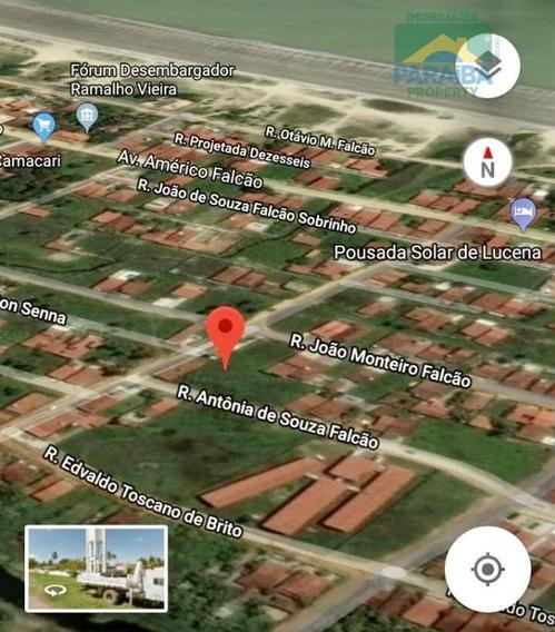Terreno Comercial À Venda, Centro, Lucena. - Te0088