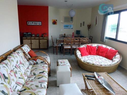 Imagem 1 de 8 de Apartamento  À Venda, Praia Da Enseada - Brunella, Guarujá. - Ap3655