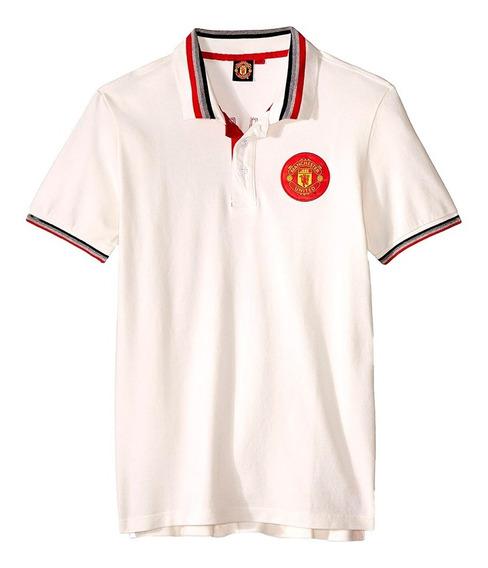 Playera Atletica Polo Manchester United Hombre Mu Mmu3583