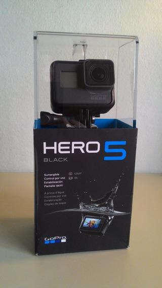Gopro Hero 5 Black + Nota Fiscal + Acessórios
