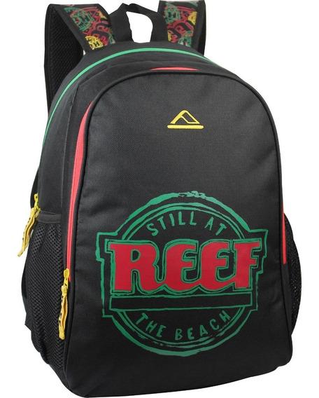 Mochila Escolar Reef Origianal Rf-616 17,5´bordado C/relieve
