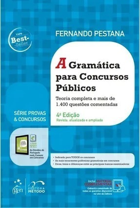 A Gramática Para Concursos Públicos 4 Ed. 2019