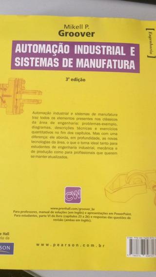 Livro Automação Industrial E Sistemas De Manufatura