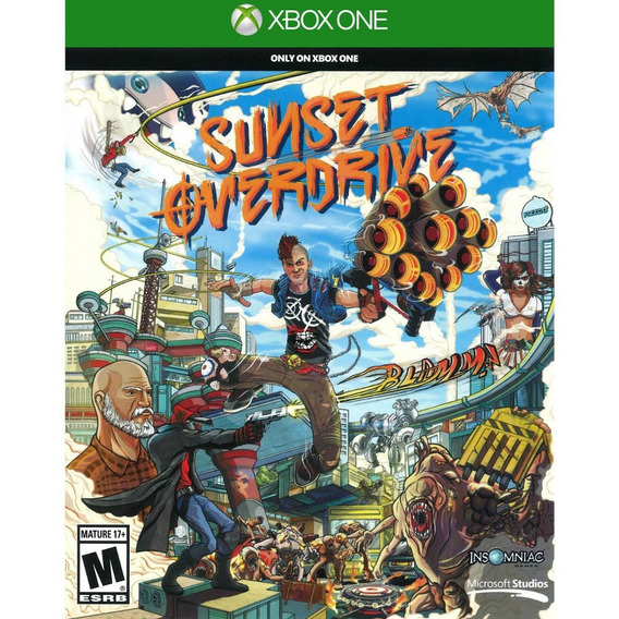 Game Xbox One Sunset Overdrive - Original - Novo - Lacrado