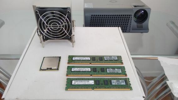 Server Xeon X5550 Lga 1366 Cooler + Memoria 6gb + Procesador