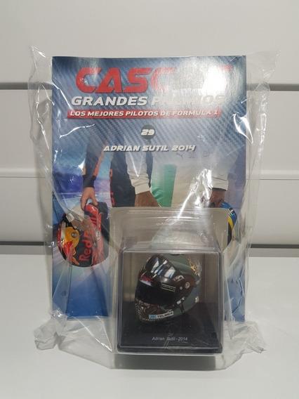 Casco Grandes Premios F1 - N29 Adrian Sutil 2014