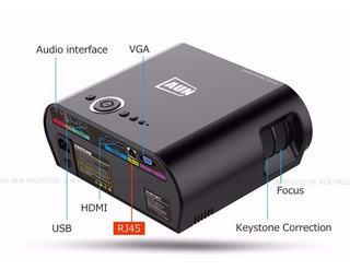 Smart Projector Led Modelo T90s Con Android 4.4.4