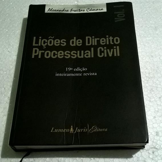 Livro Lições De Direito Processual Civil - 19ª Edição Vol. 1