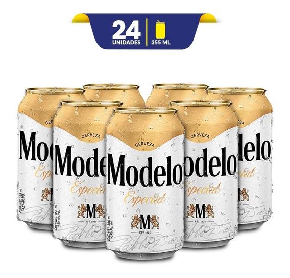 Cerveza Clara Modelo Especial 24 Latas De 355ml