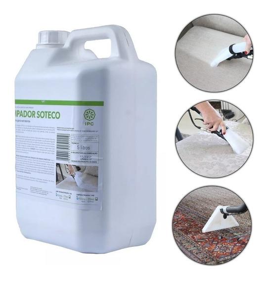 Detergente/limpador Para Extratoras 5 Litros Ipc Soteco