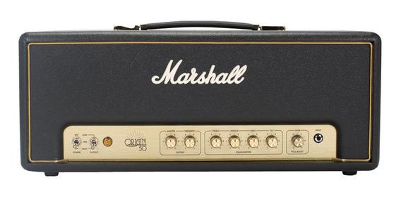 Amplificador Marshall Origin Origin50H Valvular 50W preto 120V