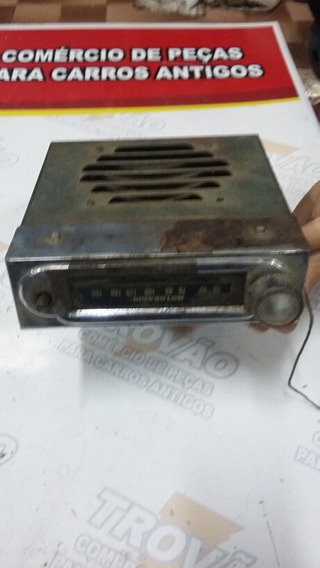 Rádio Antigo Chevrolet