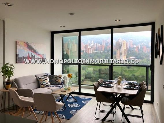 Apartamento Amoblado Renta Poblado Cod: 12886