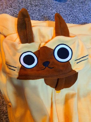 Kigurumi Pijamas Adultos Plush Disfraz Perro Polar