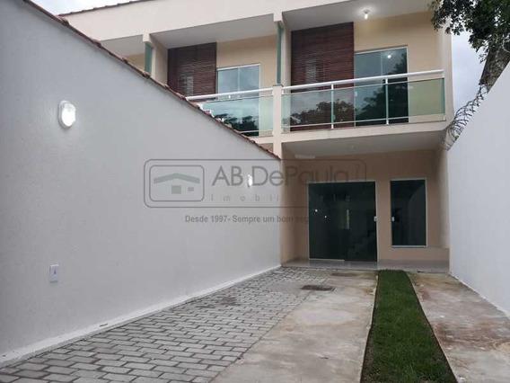 Bangu - Venda E Locaçao! Casa Nova Duplex Pronta Pra Morar! Acabamentos De Primeira, Porcelanato - Abca20081