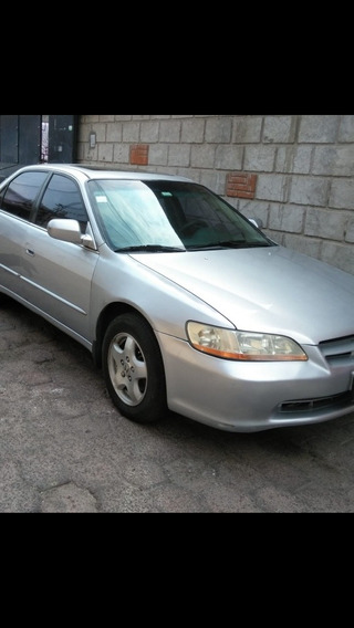Honda Accord 3.0 Ex-r Sedan V6 Piel Abs Qc Cd Mt 1999