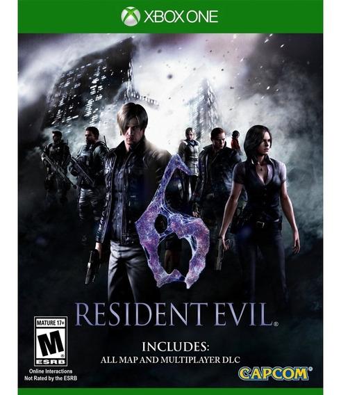 Resident Evil 6 - Xbox One Mídia Física Lacrado Português