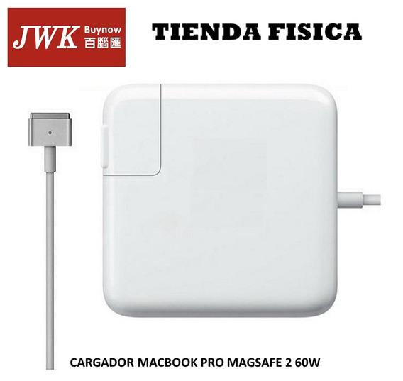 Cargador Macbook Pro Magsafe 2 60w Tipo T Jwk