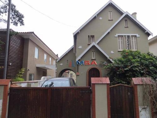 Imagem 1 de 15 de Sobrado Comercial - 8 Salas À Venda, 350 M² Por R$ 4.250.000,00 - Higienópolis - São Paulo/sp - Ca0971