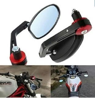2 x M10 rosca derecha X Juego de retrovisores universales para motocicleta X-Treme certificado E