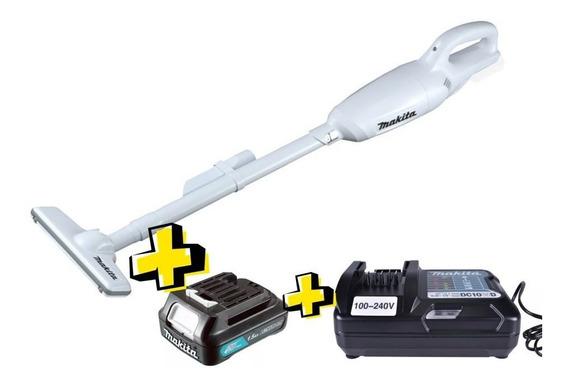 Aspirador Pó 12v Makita Cl106fdzw Com Bateria E Carregador