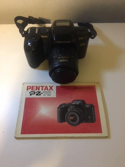 Camera Pentax Z-70 - Semi-nova - U.dono - C/ Manual